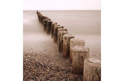 Fotobehang Strand Zee.Fotobehang Strand Zee De Fabriek Muurstickers
