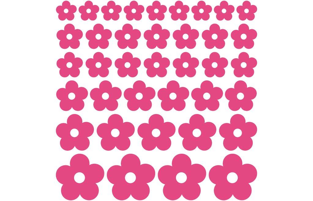 Muurstickers Slaapkamer Bloemen : Losse bloemen De Fabriek ...